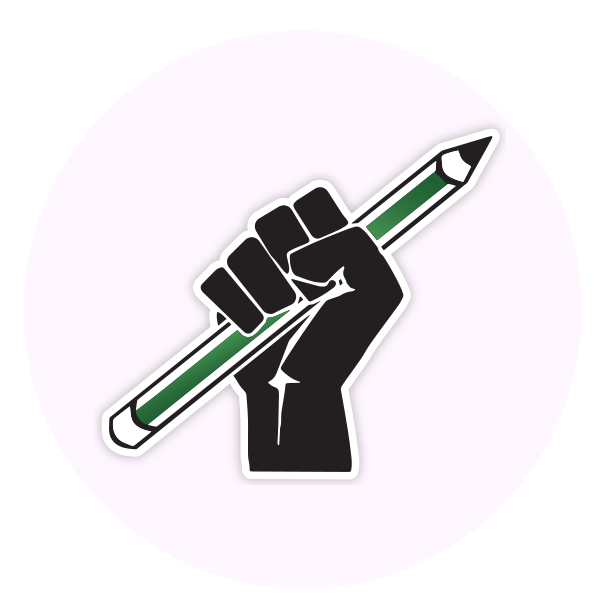fist logo for UVM United Against the Cuts